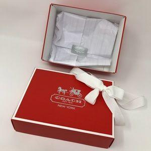 COACH GIFT BOX